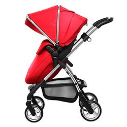 奇哥 英國Silver Cross Wayfarer 雙向嬰兒推車-紅色