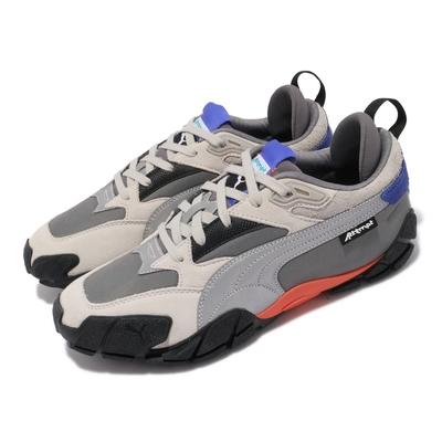 Puma 休閒鞋 Centaur Attempt 情侶 男女鞋 海外限定 聯名款 當代藝術 麂皮 反光 灰 藍 373518-01