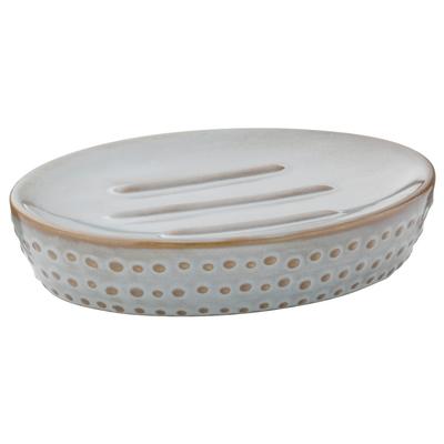 《KELA》Dots肥皂盒(圓點灰)