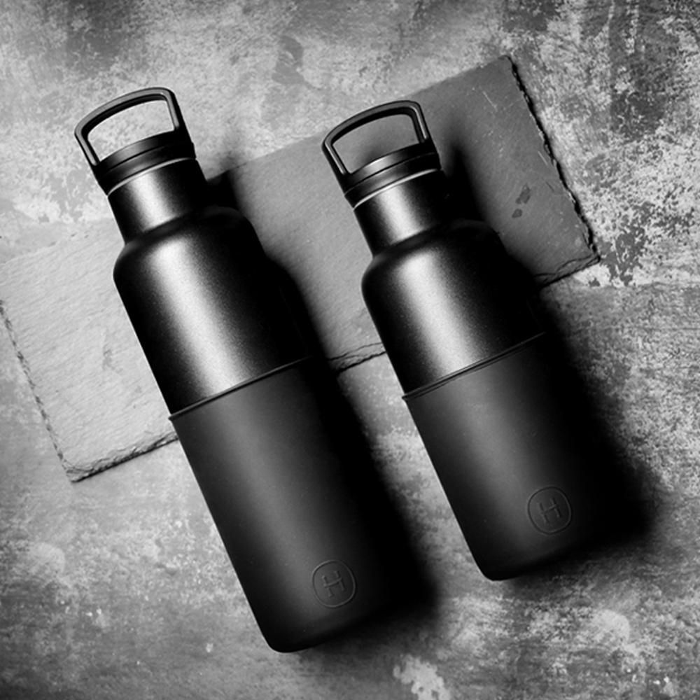 HYDY保溫瓶_CinCin Black 雙瓶組合-油墨黑-黑瓶480ml+午夜黑-黑瓶590ml