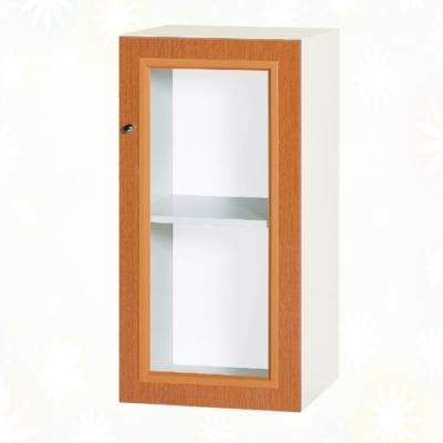 文創集 克爾 環保1.3尺南亞塑鋼單開門二層格中置物櫃/收納櫃-40.4x41.5x80.8cm免組