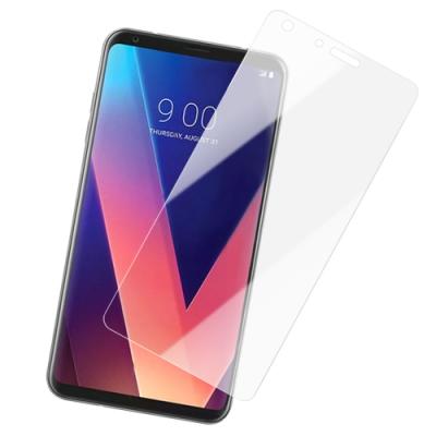 LG Q7+ 透明 9H 鋼化玻璃膜 手機螢幕保護貼