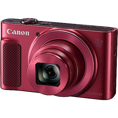 Canon PowerShot SX620 HS 紅色(中文平輸)