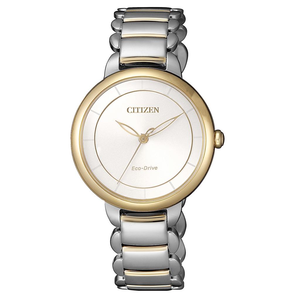 CITIZEN L系列心動時刻光動能腕錶(EM0674-81A)