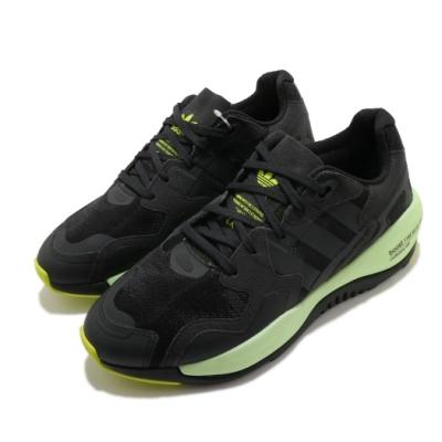 adidas 休閒鞋 Zx Alkyne 男鞋 愛迪達 三葉草 Boost 緩震 球鞋 黑 綠 FY3023
