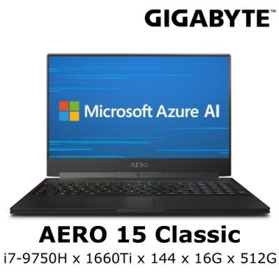 AERO 15 Classic 電競筆電 i7-9750H / GTX1660Ti 6G