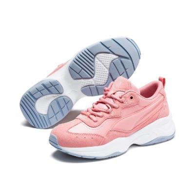 PUMA-Cilia SD 女性復古慢跑運動鞋-新娘玫瑰