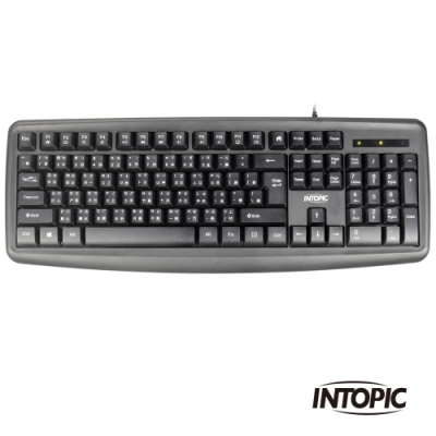 INTOPIC 廣鼎 USB多媒體標準鍵盤(KBD-79)