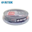 錸德 Ritek 藍光 X版 BD-R 4X DL 50GB 可燒錄光碟片(10片)