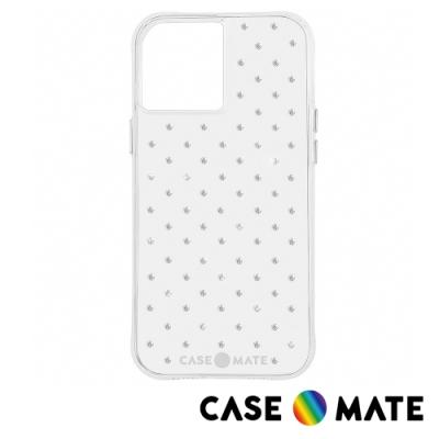 美國 Case-Mate iPhone 12 / 12 Pro Sheer Gems 純色水鑽防摔抗菌手機保護殼
