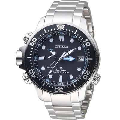 CITIZEN  PROMASTER 極限深海光動能潛水錶(BN2031-85E)46mm