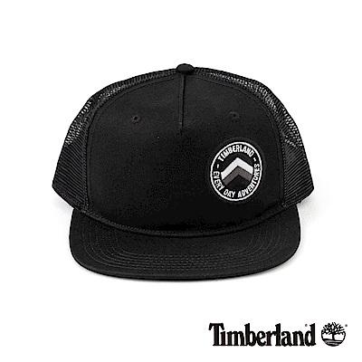 Timberland男款黑色透氣網布棒球帽A1EJU