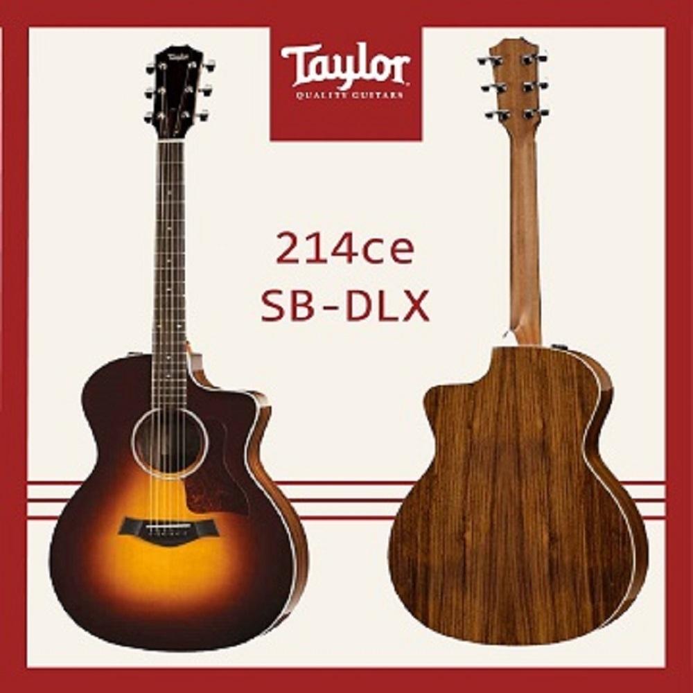 Taylor 214CE-SB-DLX 電木吉他 / 民謠吉他