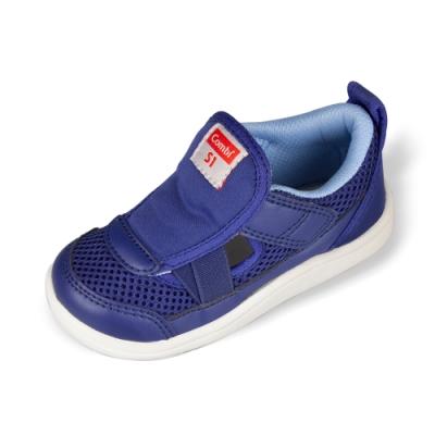 日本Combi童鞋 CORE-S兒童成長機能涼鞋 C01BL藍(小童段)