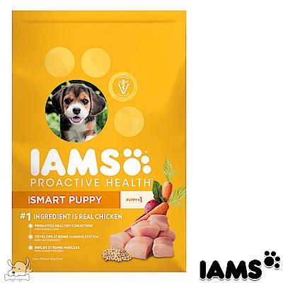 IAMS 愛慕思 健康優活 雞肉 幼犬糧 15磅 2包組