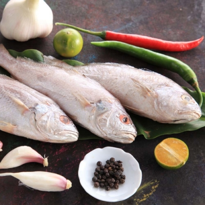 【上野物產】野生白口魚 x30隻(135g土10%/隻)