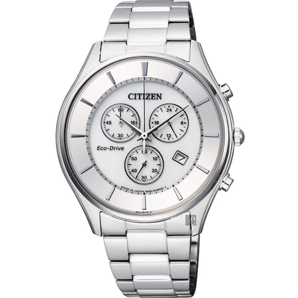 CITIZEN Eco-Drive GENTS光動能競速運動腕錶40MM/AT2360-5