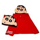【蠟筆小新】正版授權 造型披肩 毛毯 小新