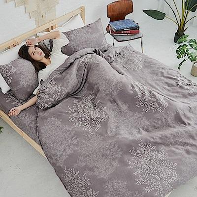 BUHO 100%TENCEL天絲床包枕套組-雙人加大(森沐影畔)