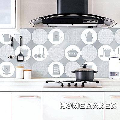 韓國廚房壁飾貼片-廚房藝術 2入_HS-AL17
