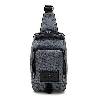 PLAYBOY- 單肩背包 職人系列-灰色
