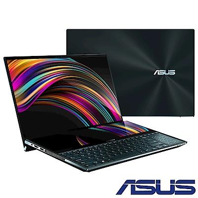 預購-ASUS UX581 ZenBook Pro Duo 15吋雙螢幕筆電(i7-9750H)