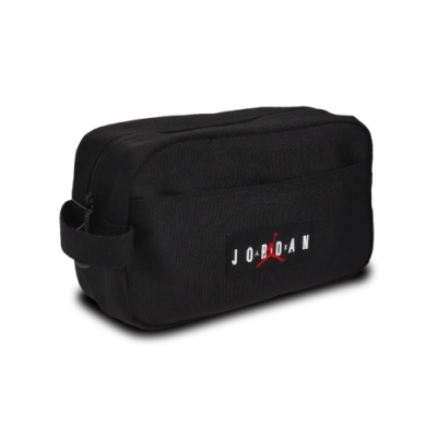 Nike 手提包 Traveling Storage Bag 喬丹 飛人 旅行收納包 小包 黑 白 紅 JD2043018AD001