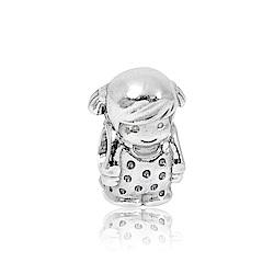 Pandora 潘朵拉 魅力可愛女孩 純銀墜飾 串珠