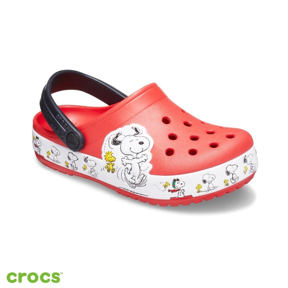 Crocs卡駱馳 (童鞋) 趣味學院史努比小克駱格 206176-8C1