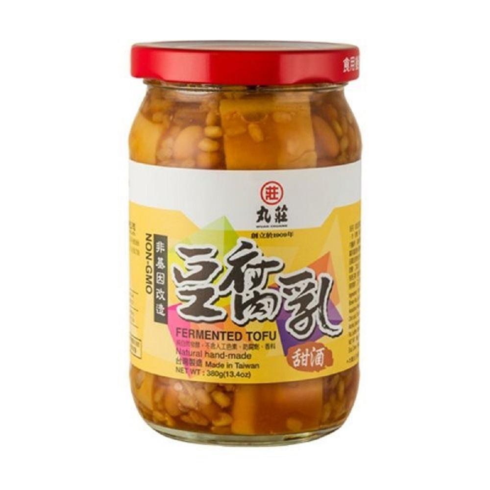 丸莊‧甜酒豆腐乳-非基因改造(共6罐)