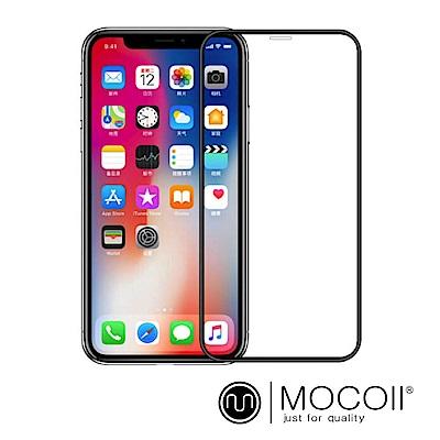 Mocoll - 2.5D 滿版 , 9H 鋼化玻璃膜 - iPhone Xs Max