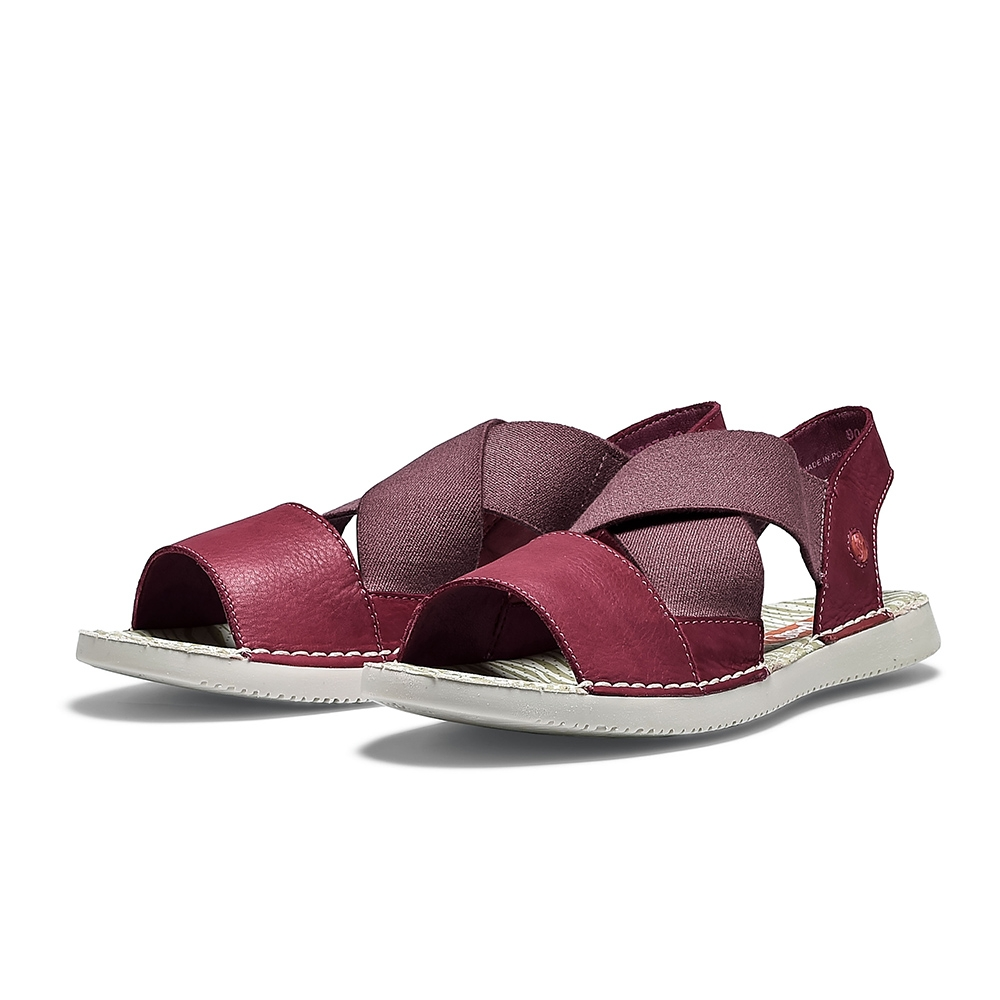 SOFTINOS TEUL 涼鞋-紅
