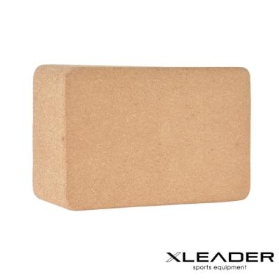 Leader X 環保軟木高密度抗壓瑜珈磚 加重款7.5cm-急