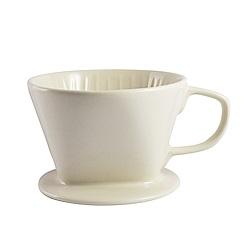 Bafin House Welead 102 陶瓷咖啡濾杯 2-4人份 (白)