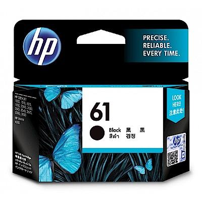 HP CH561WA 原廠黑色墨水匣 NO:61