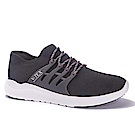 V-TEX 時尚針織耐水鞋/防水鞋 地表最強耐水透濕鞋-暗夜黑(男)