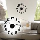 E.dot  DIY自黏牆面數字掛鐘