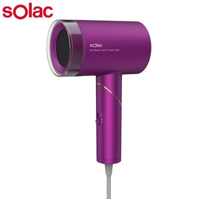 Solac 負離子生物陶瓷吹風機HCL-501(紫)
