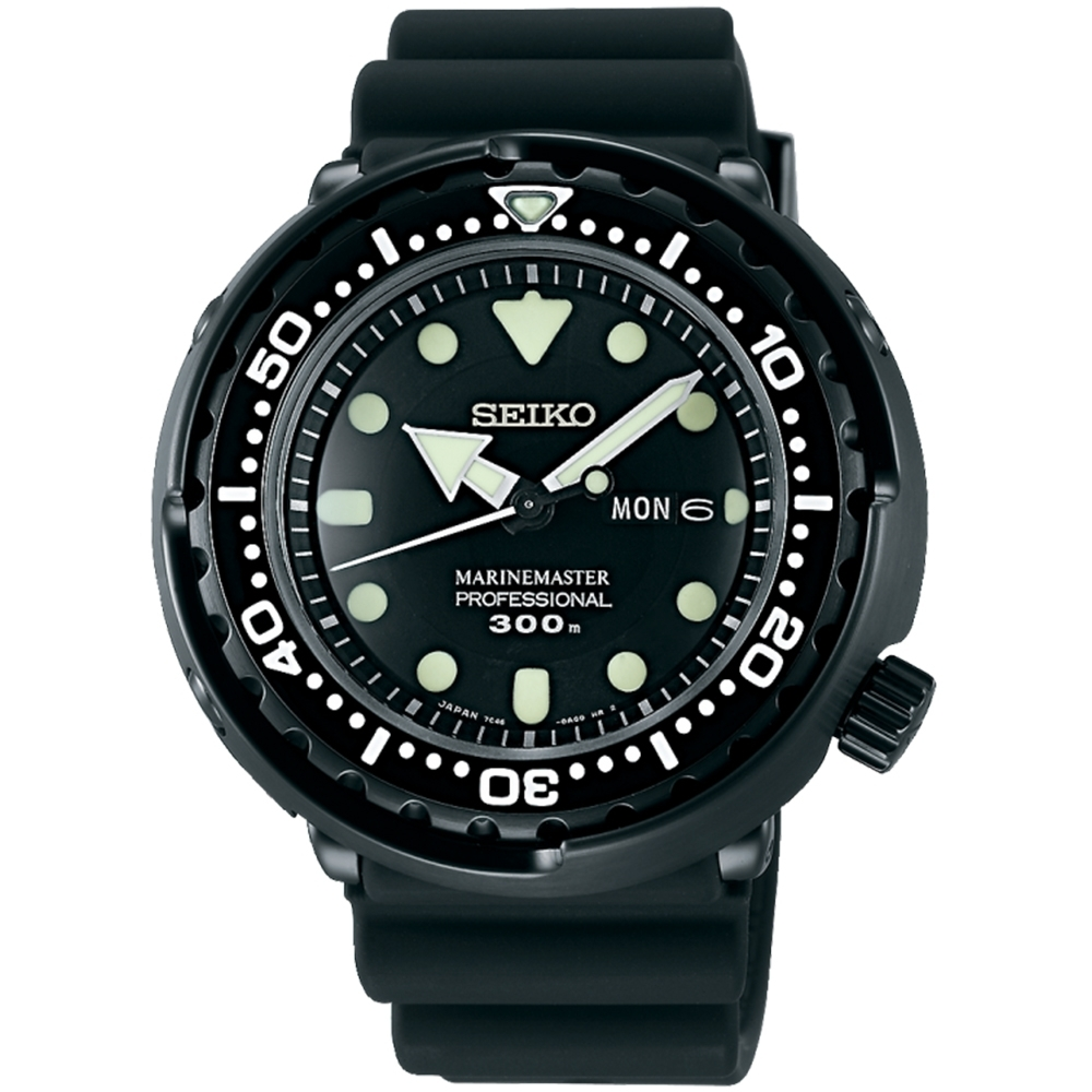 SEIKO精工 PROSPEX 海洋大師專業300米潛水錶(SBBN035J)
