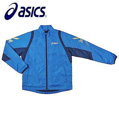 Asics 亞瑟士 男女風衣外套 藍藏青 K31402-43