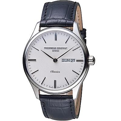 康斯登CONSTANT經典日期紳士腕錶(FC-225ST5B6)