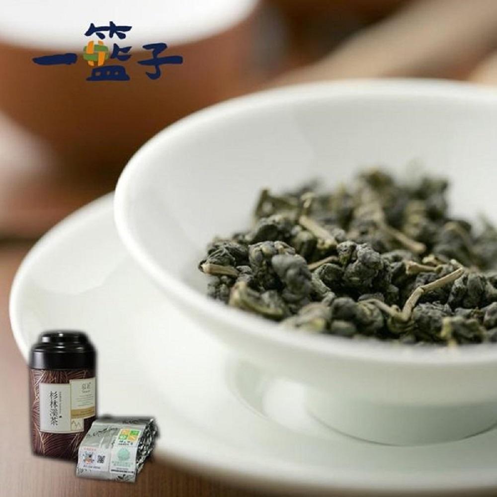 一籃子 慈耕-有機杉林溪烏龍茶(120g/罐,共2罐)