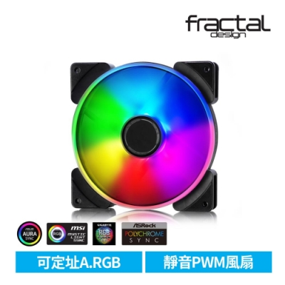 【Fractal Design】 Prisma AL-14 PWM ARGB 14cm風扇