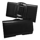 iPhone5/5S/SE/5C 經典品味(腰帶環有扣)腰掛磁扣皮套