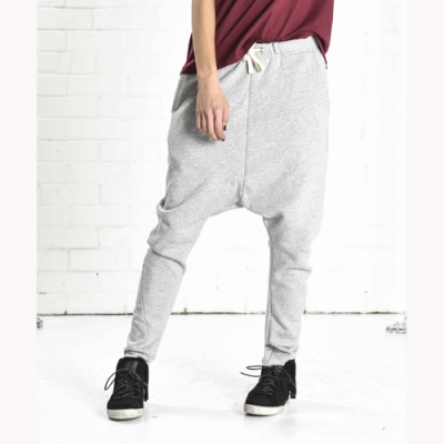 OneTeaspoon 針織飛鼠褲 破褲-TRACK PANT -女(灰)