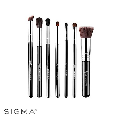 Sigma 基礎彩妝化妝刷具七件組 Best of Sigma Brush Set