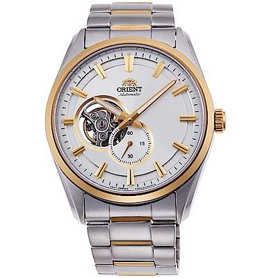 ORIENT東方錶SEMI-SKELETON系列經典鏤空機械錶(RA-AR0001S)-金