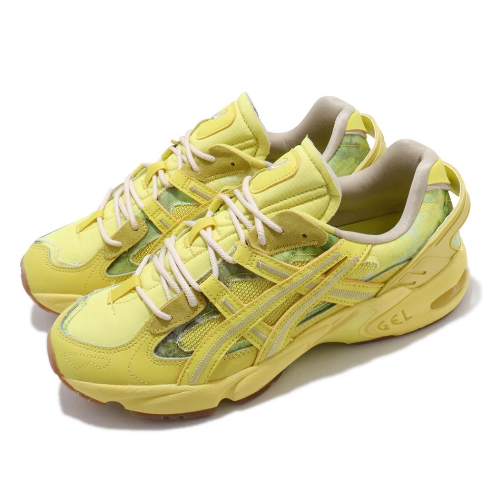 Asics 休閒鞋 Gel Kayano 5 RE 男女鞋 亞瑟士 懷舊 渲染 緩震 老爹鞋 亞瑟膠 黃 綠 1021A411750