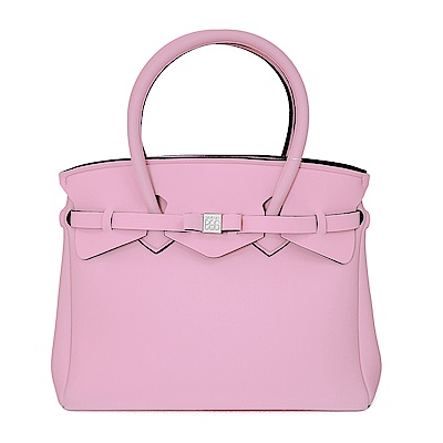 SAVE MY BAG 義大利品牌 MISS系列 俏麗粉超輕量手提托特包