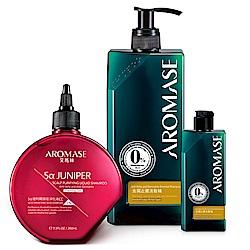 AROMASE艾瑪絲 捷利爾CC洗髮組(洗髮精400+CC+洗髮精90mL)
